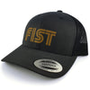 Gorra Fist Trucker Grey Gold