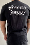 Camisetas Fist Choose Happiness Black