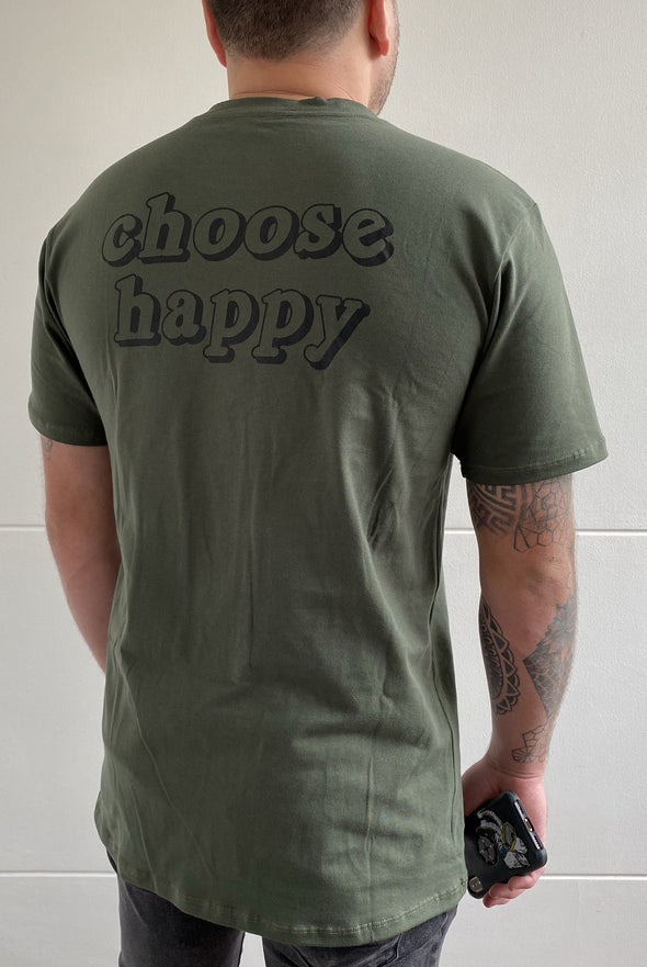 Camise Fist Choose Happiness