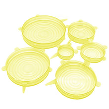 Load image into Gallery viewer, 6 PCS Silicone Stretch Lids Bowl