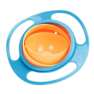 360 Rotate Bowl for Baby Learning Feeding Toy