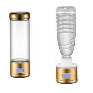 2-in-1 Supercharged Ionized Hydrogen Water Portable Infuser (Gold model)