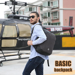 BASIC Backpack : Anti-theft + All Weather