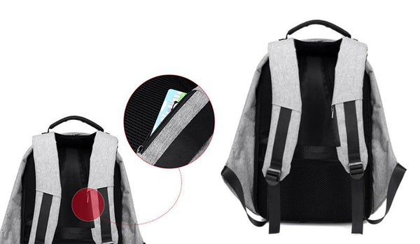 Extrovert 8 Colors Anti-Theft Backpack with Cut Resistant Front Panel