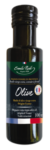 Organic French Extra-Virgin Olive Oil (100ml) - EN-HBOFR1/10