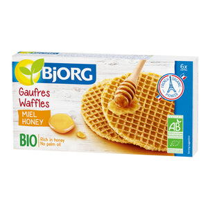 Organic Waffles with a Honey Filling (175g) – BJ3012066