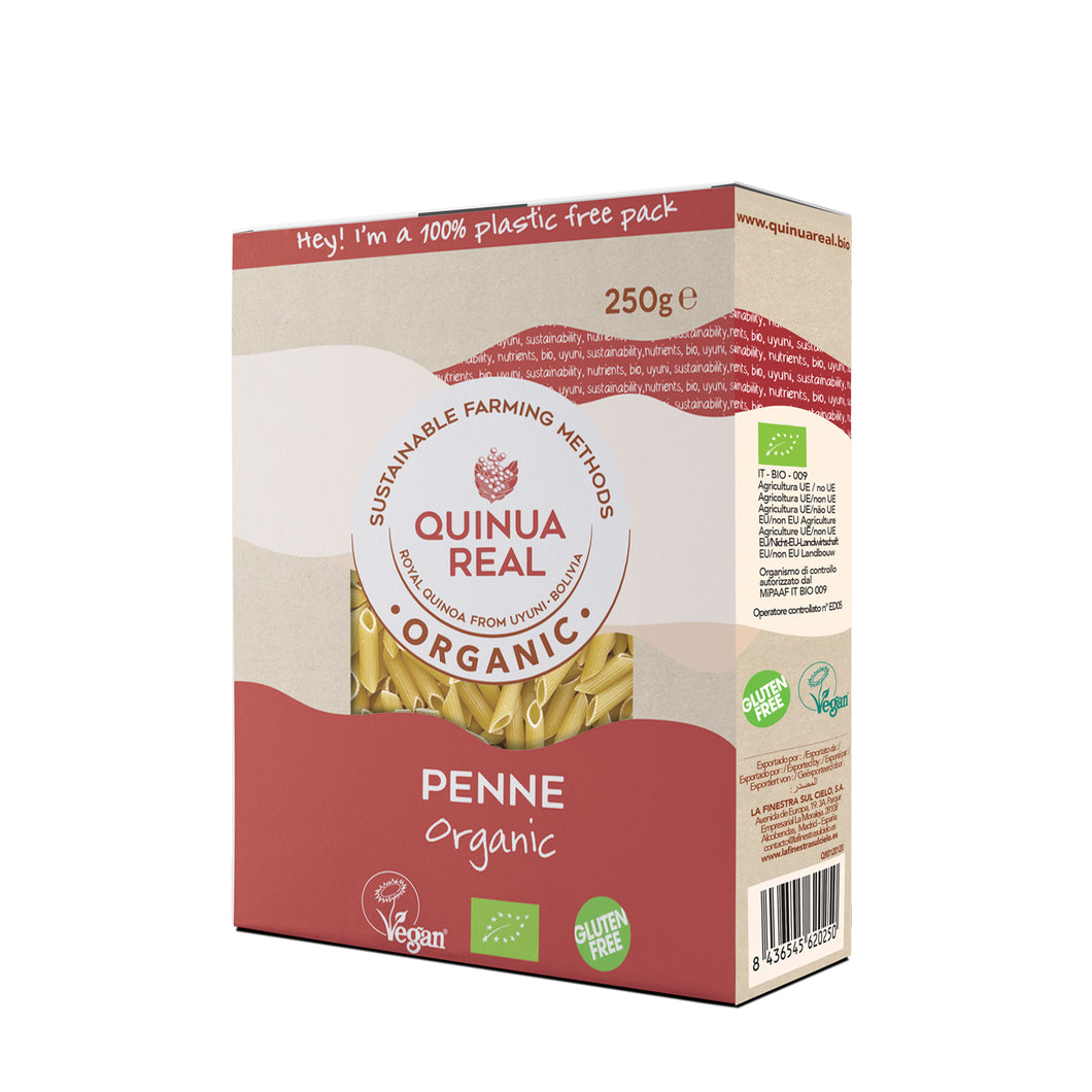 Organic Royal Quinoa and Rice Penne (250g) – QR012