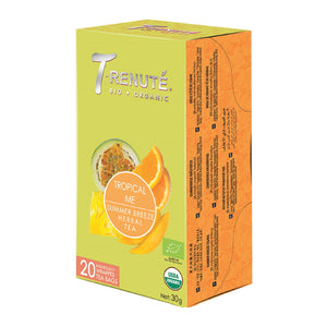 Organic Herbal Tea - Rosehip, Lemongrass, Rooibos (20 tb) – TN16