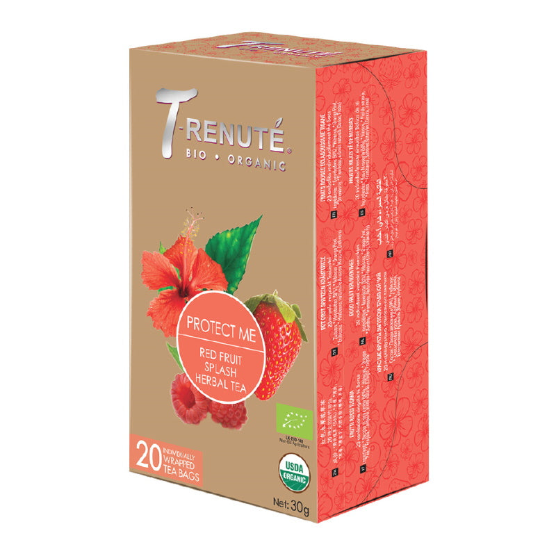 Organic Herbal Tea - Rosehip, Hibiscus and Berries (20 tb) – TN19