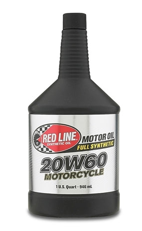 20W60 Motorcycle Oil - quart