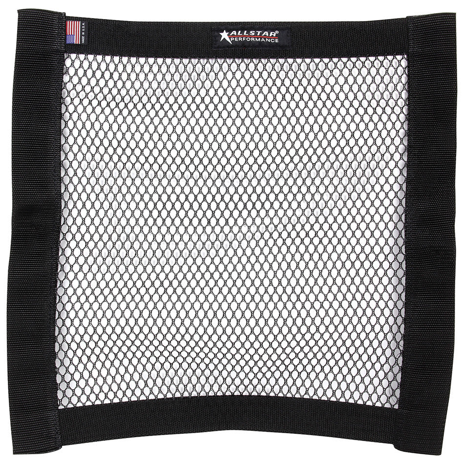 Mesh Window Net Black Non SFI 18 x 18