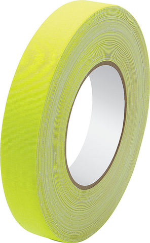 Gaffers Tape 1in x 150ft Fluorescent Yellow