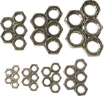 LH Jam Nut Assortment Steel