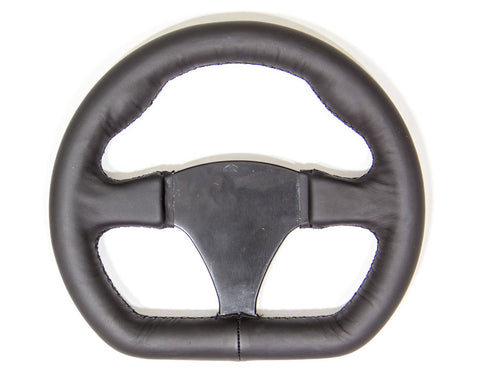 Black Leather Steering Wheel