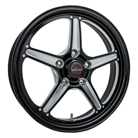 Street Lite Wheel Black 17 x 4.5 5 2.0in BS