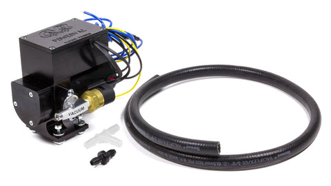 12 Volt Electric Vacuum Pump Black Anodized