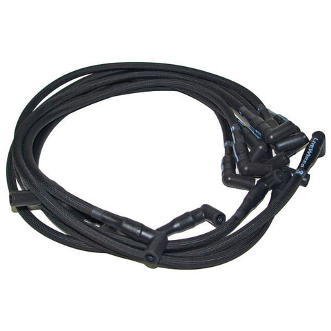 Live Wires BBC Under Headers HEI 90 Deg Black