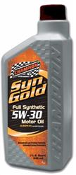 Champion Brands 4436H  Oil; SynGold (TM); SAE 5W-30; Synthetic; 1 Quart Bottle; Single; Low SAPS European Engine Oil