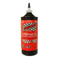 Champion Brands 4314H  Gear Oil; Single; 1 Quart Bottle; SAE 75W-90; Synthetic; API GL-5; Used For HTS Gears