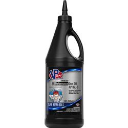 Single; 32 Ounce; SAE 80W-90; API GL-5 Gear Oil