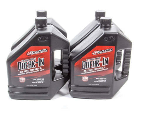 10w30 Break-In Oil Case 4x1 Gallon