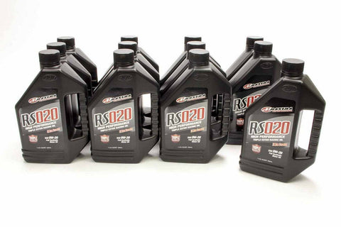 0w20 Synthetic Oil Case 12x1 Quart RS020