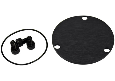 Dust Cap Kit Black 2.5 GN with O-Ring & Screws