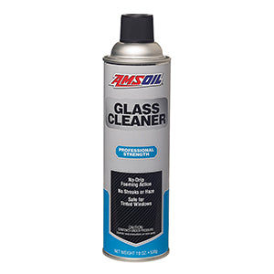Glass Cleaner  19 oz spray can.