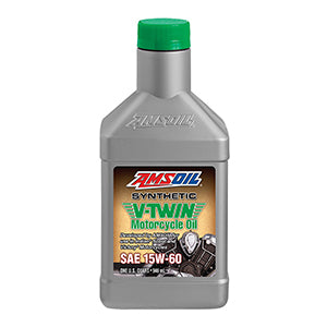 15W-60 Synthetic V-Twin Motorcycle Oil