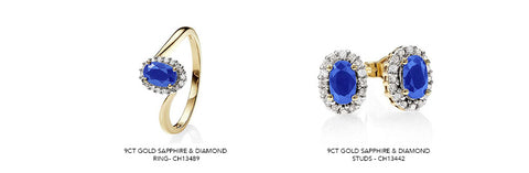 sapphire jewellery available on our website