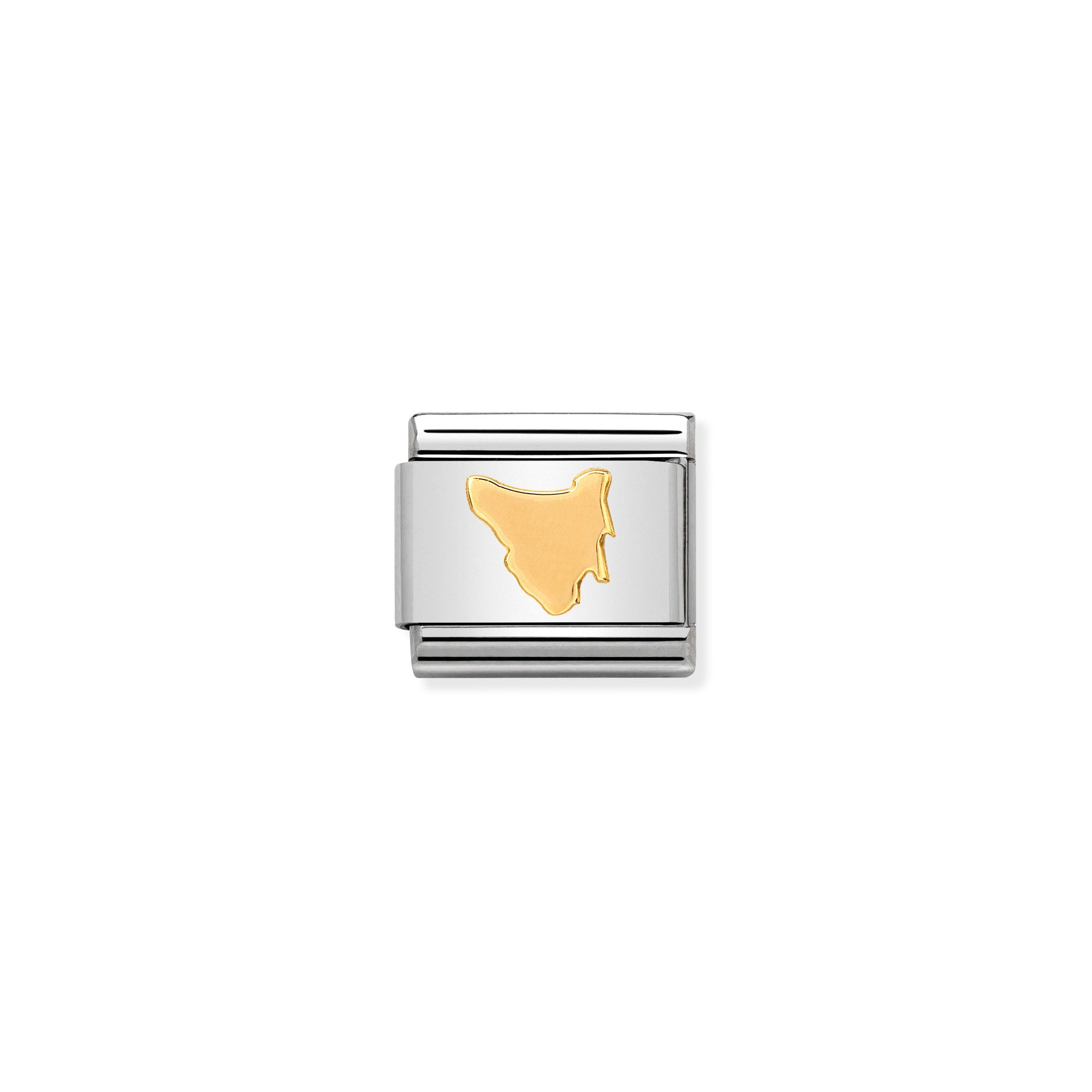 NOMINATION - Composable 030128 17 Classic GEOGRAPHIC st/steel & 18ct gold (Tasmania)