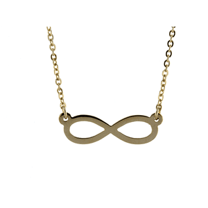 9ct 45cm Infinity Necklace