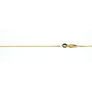 9ct Box Chain 50cm
