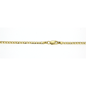9ct Curb Chain 45cm