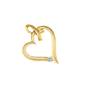9ct Gold Heart Pendant