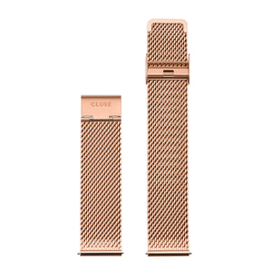 CLUSE 20mm Strap Rose Gold Mesh