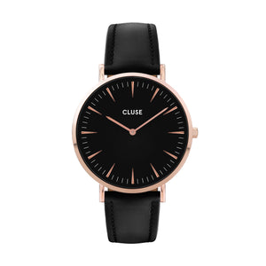 CLUSE - Minuit Rose Gold White/Pink Watch CL30001
