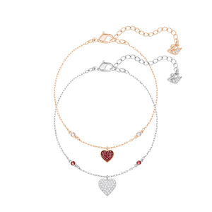 SWAROVSKI CRY WISHES HEART BRACELET