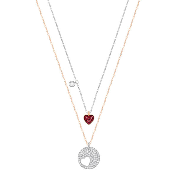 SWAROVSKI CRY WISHES HEART PENDANT