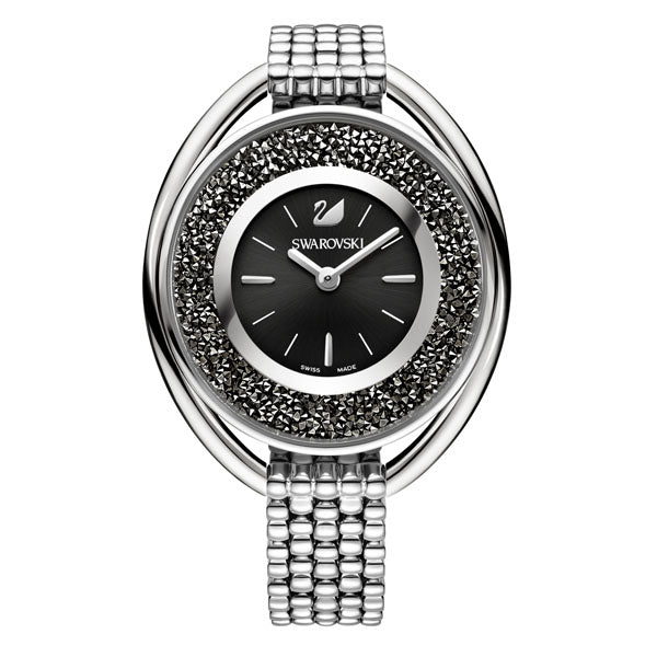 SWAROVSKI CRYSTALLINE WATCH, BLACK