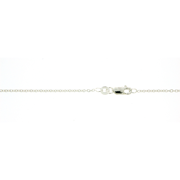 Sterling Silver 45cm Rolo Chain