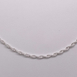 Sterling Silver 60cm Double Cable Chain