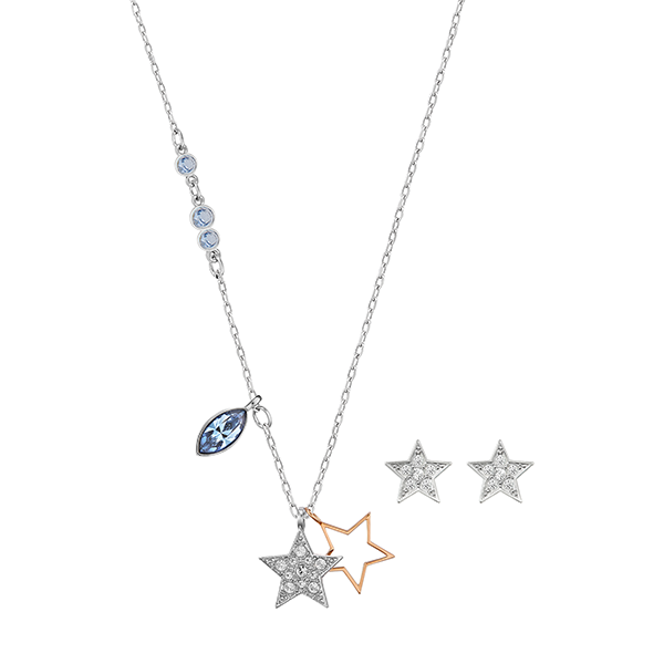 Swarovski Duo Set Star