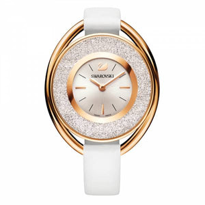 Swarovski Gold Crystalline Oval Watch