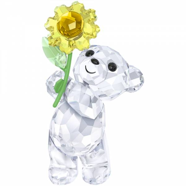 Swarovski Kris Bear - A Sunflower For You