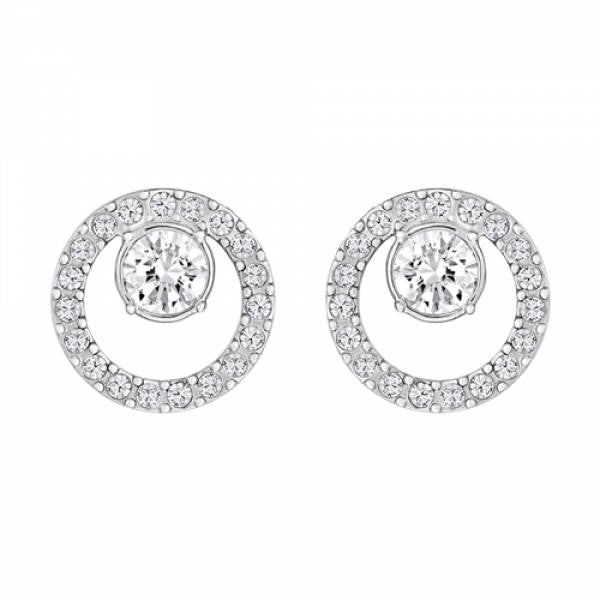 Swarovski Rhodium Creativity Earrings