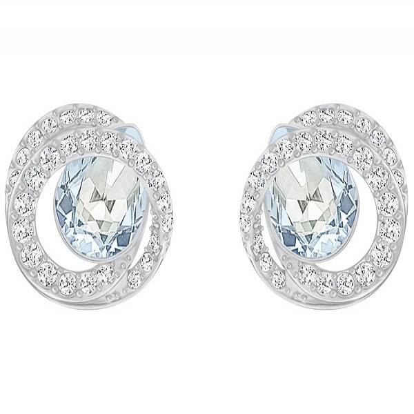Swarovski Rhodium Generation Earrings