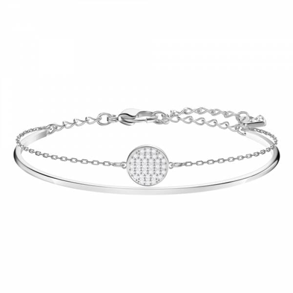 Swarovski Rhodium Ginger Bangle