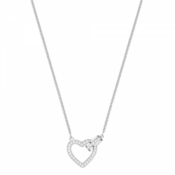 Swarovski Rhodium Lovely Necklace