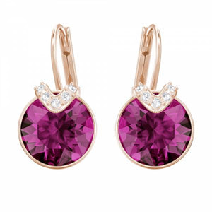 Swarovski Rose Bella Fuchia Earrings